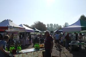 Penhurst Market in the sunshine
