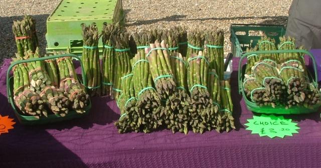 Asparagus at Penshurst