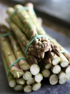 Premium quality asparagus spears....