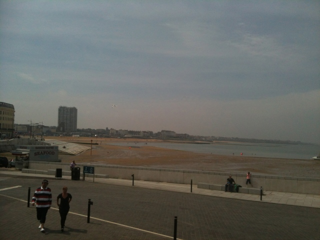 Turner skies and the wonderful food at Indian restaurant the Ambrette - two great reasons to visit Margate
