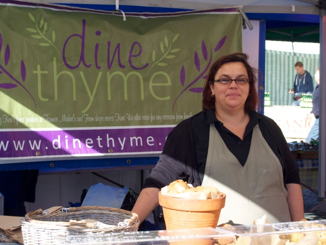 Award winning cook Carolyn makes great pies and pastries