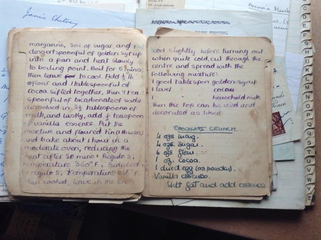 Granny Simpson's boiled chocolate cake recipe