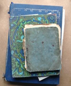 Three generations - three recipe notebooks