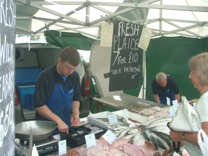 Wonderful fresh fish up from Hastings