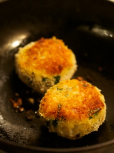 Hot smoked hake fishcakes