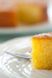 My favourite lemon and lime Victoria sandwich cake (recipe in my Busy Mum's Cookbook)