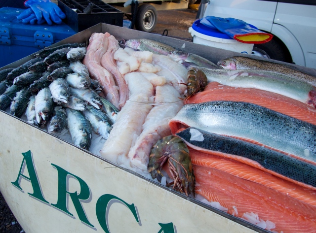 The cold seas this  month ensure that locally sourced fish is at its peak