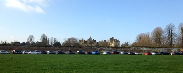 The finest setting for a market in the country? Penshurst Place in all its glory...