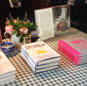 Book signing at Shipbourne farmer's market