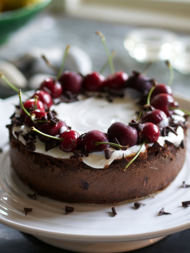 Black forest cheesecake - definitely one of my best recipes ever...