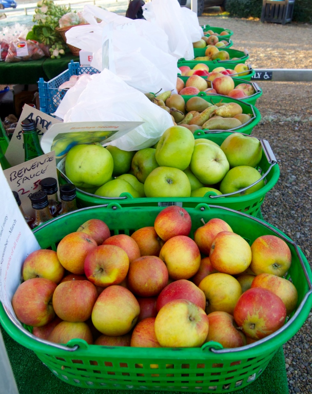 A feast of apple and pears