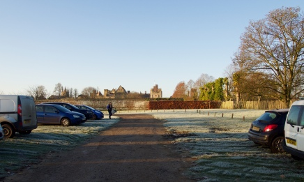 Perfect Penshurst - frosty and sunny for last December's market...