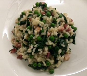Risotto makes a great spring supper dish